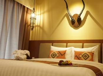 Baobab Safari Resort Pasuruan - Deluxe Hill King Promo PDKT