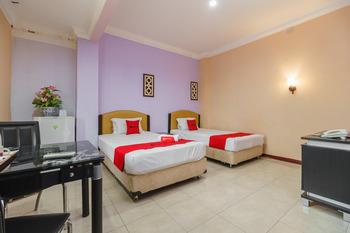 RedDoorz @ Pematangsiantar Pematangsiantar - RedDoorz Twin Room Regular Plan