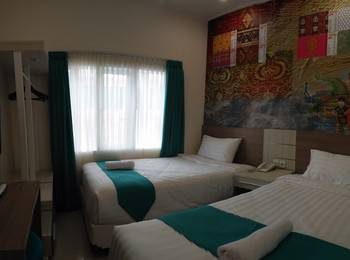 Poin Phila Bandung - Deluxe Twin Room Only Regular Plan