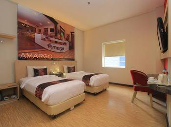 Promenade Hotel Bandung - Deluxe Twin Room Only Regular Plan