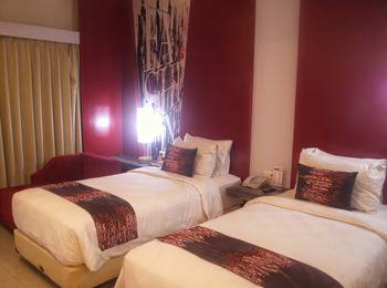 Promenade Hotel Bandung - Deluxe Twin Room With Breakfast    Regular Plan