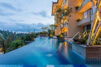 SereS Springs Resort & Spa Bali - Deluxe Twin Room with Rice Field View Regular Plan