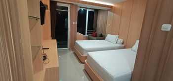 Greenpark Jogja Apartment by Denajeng Yogyakarta - Cozy Twin Room Only  Regular Plan