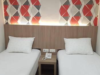 Ethan Hotel Kelapa Gading Jakarta - Deluxe Twin Regular Plan