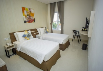 Zoom Hotel Mulawarman Samarinda - Comfort Twin Room Regular Plan