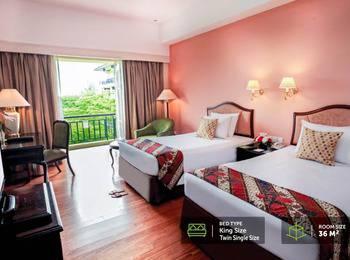 Mason Pine Hotel Bandung - Deluxe Twin  Regular Plan