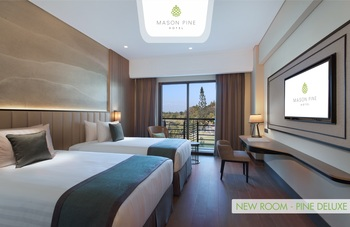 Mason Pine Hotel Bandung - Pine Deluxe Twin (Soft Opening Promotion) Limited Time Offer Regular Plan