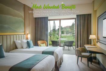 Mason Pine Hotel Bandung - Heavenly Staycation at Pine Terrace Twin Regular Plan