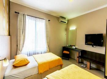 Andelir Hotel Bandung - Deluxe Twin Room Only Regular Plan