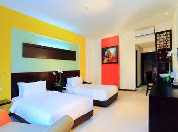 Ozz Hotel Kuta Bali - Superior Twin Room Only Regular Plan