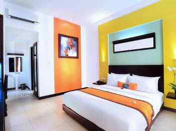 Ozz Hotel Kuta Bali - Deluxe Twin Room Only Last minute Discount 45%