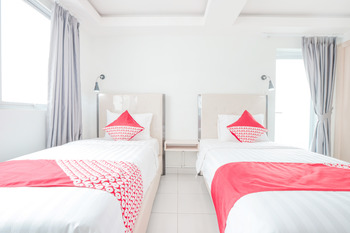 OYO Flagship 210 Amethyst Kemayoran Near RSUD Pademangan Jakarta - Deluxe Twin Room Regular Plan