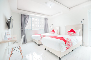 OYO Flagship 210 Amethyst Kemayoran Near RSUD Pademangan Jakarta - Standard Twin Room Regular Plan