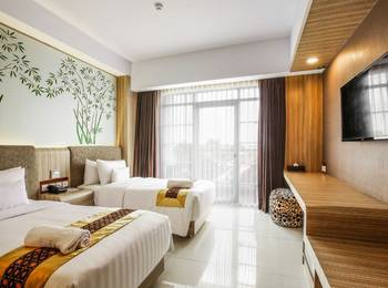 KJ Hotel Jogja - Superior Twin Room only Promo Safecation