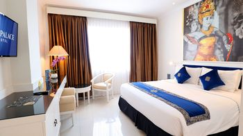 Vue Palace Hotel Bandung - Deluxe Double Room Breakfast Basic Deal 50%