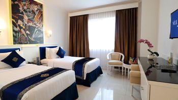 Vue Palace Hotel Bandung - Deluxe Twin Room Only Basic Deal 50%