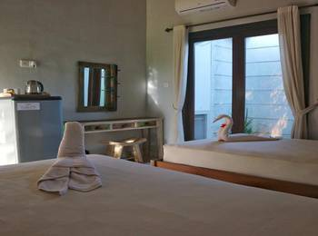 Louto Dmell Bali - Twin Bedroom breakfast Regular Plan