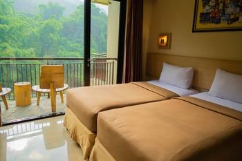 DRiam Resort Ciwidey Bandung - Deluxe Twin River View With Breakfast Regular Plan