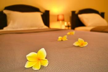Joglo Villa Bali Bali - Frangipani Room Regular Plan