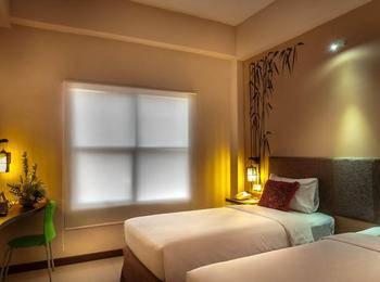 Tree Hotel Makassar - Room Only Twin  ( 2 TEMPAT TIDUR TANPA SARAPAN )  WIDIH - Pegipegi Promotion