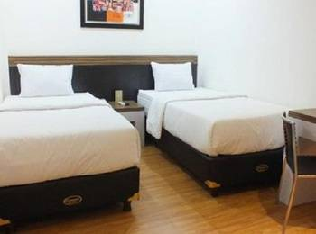 Gania Hotel Bandung - Standard Twin Room Only Regular Plan