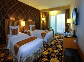 Grand Rocky Hotel Bukittinggi - Grand Deluxe Twin Room Regular Plan