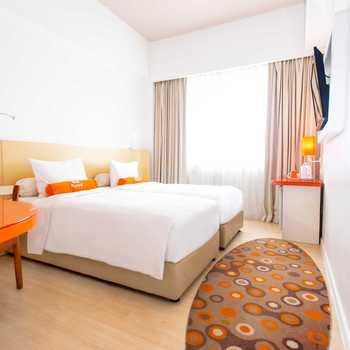 HARRIS Hotel Pontianak Pontianak - HARRIS Simple Room Only Twin Bed HOT DEAL HSP