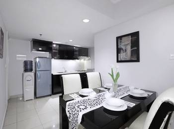 Aston Rasuna - 2 Bedroom Deluxe (Room Only) Regular Plan