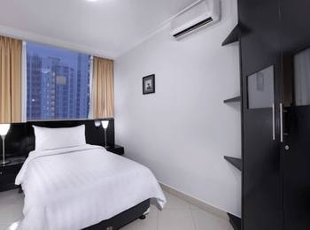 Aston Rasuna - 2 Bedroom Double Queen Deluxe Room Only Regular Plan