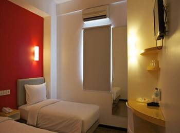 Hotel Amaris Cilegon - Smart Room Twin Regular Plan