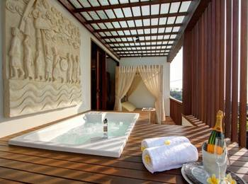 The Royal Purnama Art Suites & Villas Bali - One Bedroom Jacuzzi Sea View Promosi Reguler 1