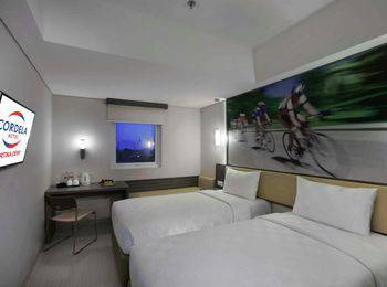 Cordela Kartika Dewi Jogja - Deluxe Twin Room Only Regular Plan