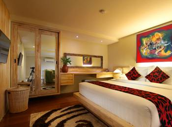 Pandawa All Suite Hotel Bali - Deluxe Mezzanine Garden Suite Hanya Kamar MINIMUM 3N STAY