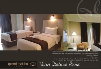 Hotel Wisata 4 UIT Makassar - Deluxe Twin Room Only Regular Plan