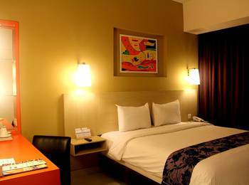 Aquarius Boutique Hotel Sampit Kotawaringin Timur - Deluxe Double Room Regular Plan