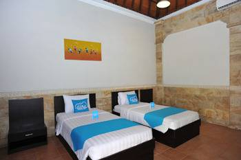 Airy Kuta Square Tegal Wangi 2 Bali - Deluxe Twin Room Only Regular Plan