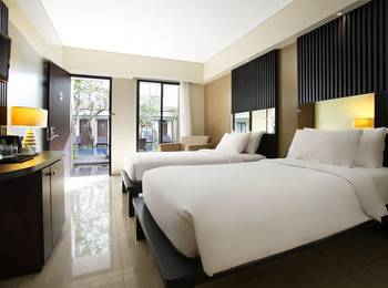 Hotel Santika Kuta Bali - Executive Room Twin Regular Plan
