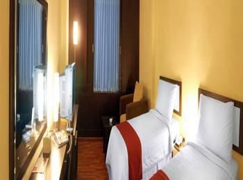 Garuda Plaza Hotel Medan - Kamar Deluxe Twin Regular Plan