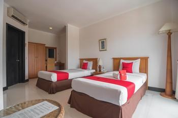 RedDoorz plus near UPI Setiabudi Bandung - RedDoorz Suite Twin Room Regular Plan