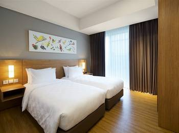 Aviary Bintaro Tangerang Selatan - Premier Flat 2 Bedroom Room Only Regular Plan