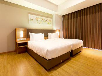 Aviary Bintaro Tangerang Selatan - Executive Flat 2 Bedroom Regular Plan