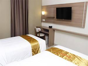 Hotel Faustine by Conary Semarang - Cozy Twin Room Only Regular Plan