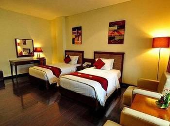 Grand Jimbaran Boutique Hotel Bali - Twin Room with Private Bathroom Regular Plan