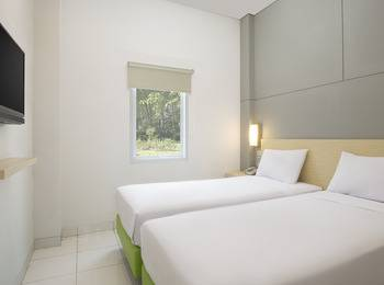 Odua Bekasi Hotel Bekasi - Deluxe Twin Room Regular Plan