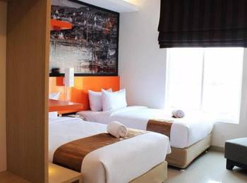 Hotel Bliss Soetta Semarang by IHM Semarang - Deluxe Twin - Room Only Regular Plan