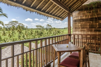 Puri Sebali Resort Bali - Deluxe suite rice terrace Basic Deal