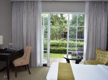 The Mirah Hotel Bogor - Deluxe Balcony Double Bed Room Only Regular Plan