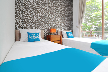 Airy Buleleng Lovina Kubu Gembong 1 Singaraja Bali - Deluxe Balcony Twin Room with Breakfast Special Promo Oct 45