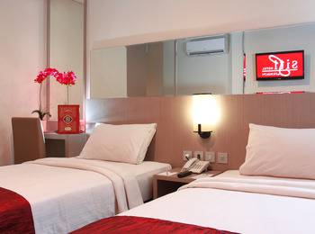 Siti Hotel Tangerang Tangerang - Deluxe Twin Room Only  Regular Plan