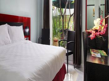 Shunda Hotel Bali - Deluxe Room Only Regular Plan